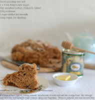 St Patrick's Day fruit & spice soda bread