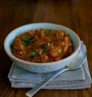 Sweet potato & split pea dahl