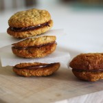 ANZAC day baking – anzac biscuits with nutella filling