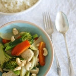 A recipe for Thai green chicken curry and a look back at the 90s