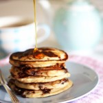 Pancake Day (Shrove Tuesday) – peanut butter chocolate chip pancakes