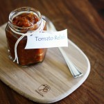 Tomato relish, the return of doorstop sandwiches and school days