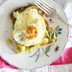 My new obsession for breakfast: avocado and egg on toast
