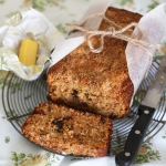 Banana, coconut and chocolate chip bread