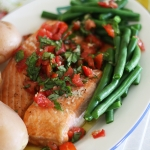 Product Review – Tassal fresh salmon and a recipe for Christmas baked salmon with tomato basil salsa