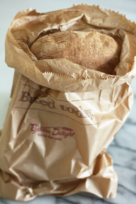 Bakers Delight ciabatta