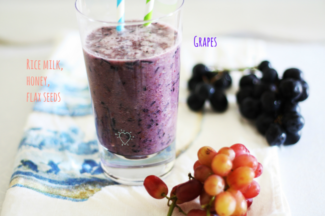 grape smoothie