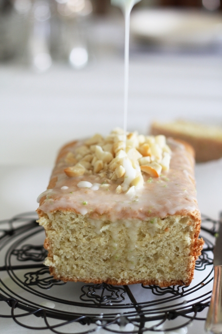 Bill Granger's lime, coconut and macadamia cake with lime glaze ...