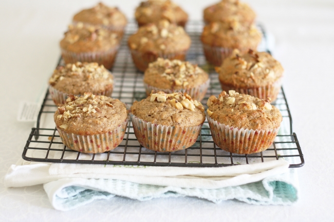 nutty muffins