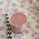 Smashed berry smoothie