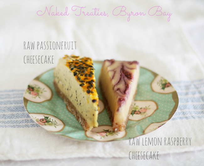 naked treaties cheesecakes