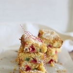 Christmas candy white chocolate blondies