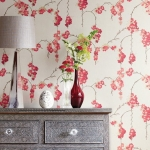 Removable wallpaper (and a cool way to brighten up a kitchen splashback)