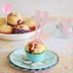 Host a Breast Ever Brunch campaign for Mater Chicks in Pink + Strawberry, lemon & white chocolate muffins