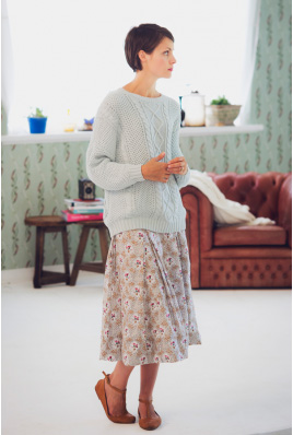 Lazybones Edith skirt in Nancy