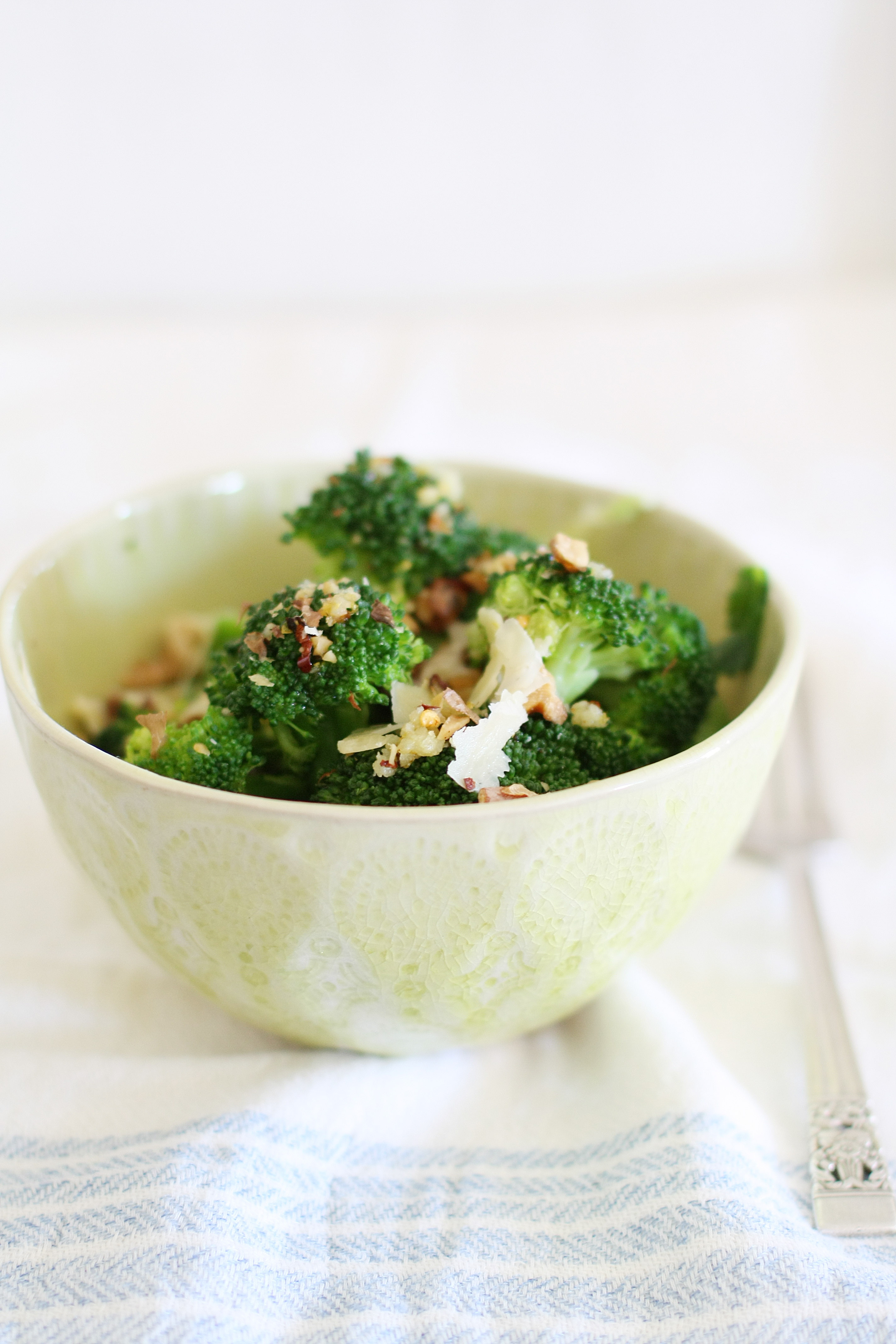 chilli lemon broccoli