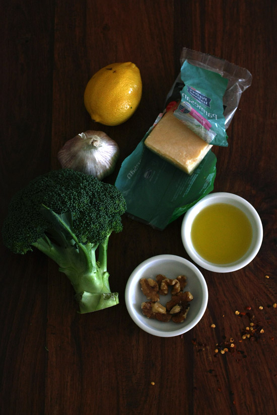 lemon chilli garlic broccoli