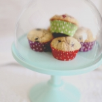 Wholemeal berry buttermilk muffins