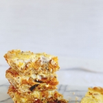 Roast pumpkin, walnut & feta quiche