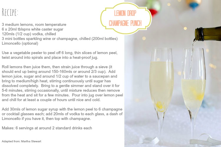 Vanilla Lemon Drop Recipes — Dishmaps