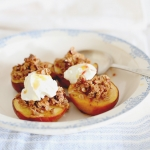 Roast breakfast peaches
