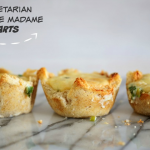 Herb & cheese Croque Madame Muffins