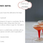 Cocktail Fridays: French martini