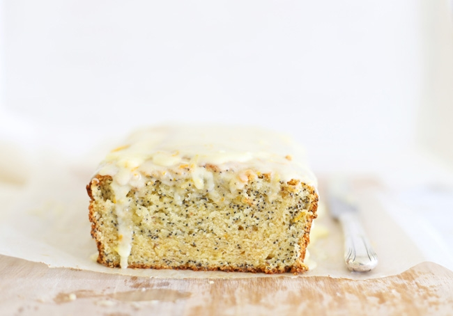 Citrus poppyseed cake l a splash of vanilla