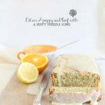 Citrus poppy seed loaf cake