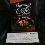 Product review; Carman's Café Granola (macadamia, red apple & plum)