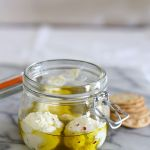 Sweet chilli labneh (or labna)