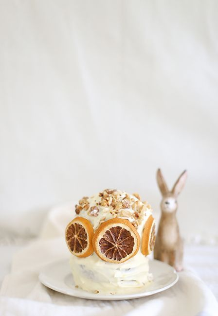 Mini carrot layer cake l a splash of vanilla